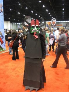 How to build a Lego Aku (Samurai Jack) costume
