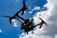 Hovering a newly converted Inspire 1 Pro. This was originally a DJI Inspire 1, gen 1 model. I converted it with the X5 gimbal and a simple firmware update.  www.gunnphotoservices.com