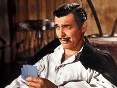 No one can master a quip like the King of Hollywood. Clark Gable plays Rhett Butler (and you can glimpse the amazing Vivien Leigh as Scarlett O'Hara). Clark Gable, Inline, King Of Swords, Leslie Howard, Rhett Butler, Timothy Dalton, Margaret Mitchell, Scarlett O'hara, Romance Film