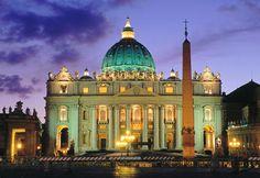 St. Peters Basilica, Vatican City, Rome