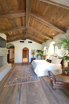 tapis coloré, plafond sous pente, maison en bois, chalet dans la foret, plante verte