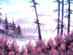 Mountain Blossoms - The Joy of Painting S5E3