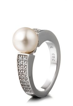 Esprit Jewel Ring Precious Glam, 925 Sterlingsilber, syn. Perle Jetzt bestellen unter: https://mode.ladendirekt.de/damen/schmuck/ringe/silberringe/?uid=a6d72848-4723-5ec1-a96c-3eed34fef619&utm_source=pinterest&utm_medium=pin&utm_campaign=boards #schmuck #ringe #bekleidung #silberringe Bild Quelle: brands4friends.de