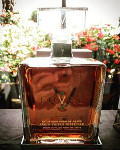 The new @revelspirits packaging unveiled during the 2016 Tequila Aficionado Heartland Tour #taheartland #sponsored
