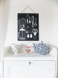 Upcycled Slate Roof Tile Kitchenware and Cutlery. by torielliott, £19.99