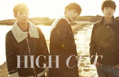5urprise Seo Kang Joon, Gong Myung and Yoo Il - High Cut Magazine Vol.137