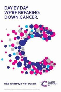 Cancer Research UK is the world's leading charity dedicated to cancer research. Together we will beat cancer Research Logo, Cancer Research Uk, Charity Branding, Childhood Cancer Awareness Month, Brand Campaign, Brand Style Guide, Health Logo, Breast Cancer Awareness, Creative