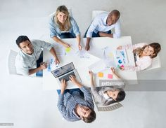 Group of people at business meeting at a creative office : Stock Photo