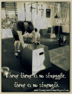 all my struggles have made me stronger!