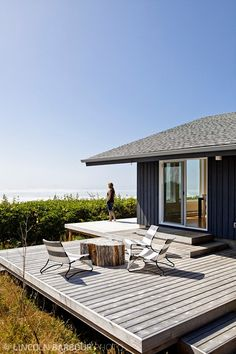 Beach House in Arch Cape, OR. Interior design by Pamela Hill and Lois MacKenzie