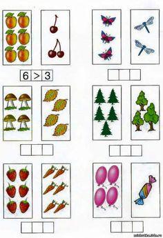 (1) توحدي تميزي Math Literacy, Math Classroom, Kindergarten Math, Teaching Math, Special Education Behavior, Kids Education, Pre K Worksheets, Material Didático, Math Strategies