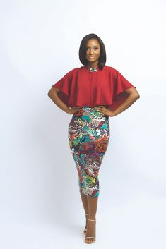 Nouva Couture Spring Summer 2016 Collection - BellaNaija - - Nigeria breaking & top news to the World Read Today African Inspired Fashion, African Print Fashion, Fashion Prints, Love Fashion, Fashion Design, Fashion 2016, Fashion Wear, African Attire, African Wear
