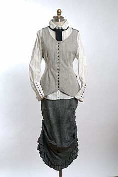 Ivey Abitz -- a little Ellis Island, but can be adapted for Steampunk as pieces, I think.
