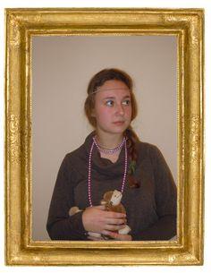 Dalla redazione Forever young fedejuve invia la sua versione de La dama con l'ermellino di Leonardo.