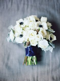 Peonies and anemone: http://www.stylemepretty.com/2014/12/26/20-bouquets-for-a-winter-wedding/