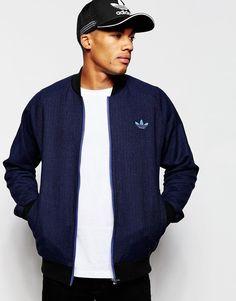 adidas Originals Tweed Bomber Jacket AB7640