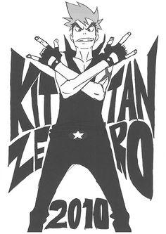 Kittan Zero pin up by Sushio
