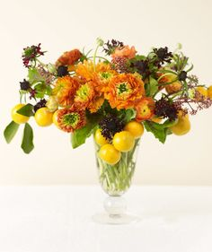 Orange Ranunculuses | From yellow tulips to red roses, find flowers that match your style.
