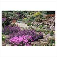 Rock garden at Kew Gardens