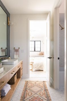 b l o g 3 Tile Trends for 2020 with Cle TileBECKI OWENS Breast Enhancers Throughout history, women h Bathroom Trends, Chic Bathrooms, Bathroom Designs, Bathroom Ideas, Bathroom Showers, Bathroom Inspo, Dream Bathrooms, Bath Ideas, Br House