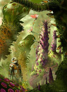 Jungleman II by ahaas