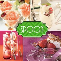 POP {and Sip & Spoon} the Bubbly