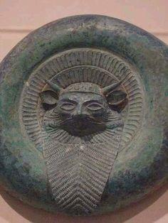 Escudo de bronce etrusco , s.Vll a.c. Italia