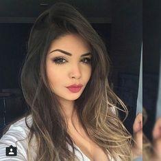 re linda antes Girl Face, Woman Face, Onbre Hair, Instagram Queen, Pinterest Hair, Hummer, Pretty Face, Hair Goals, Makeup Looks