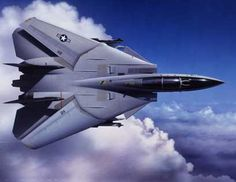 US NAVY GRUMMAN F-14 TOMCAT This aircraft (Serial No. 112) was to be the last Tomcat to be catapult-launched from a USN aircraft carrier prior to final withdrawal from service.