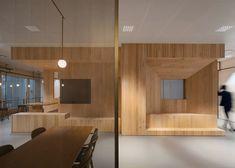 """Neri&Hu creates """"stair of encounters"""" inside Bloomberg's Hong Kong office"""