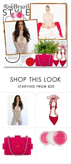 """""""Ricki Brazil 4"""" by fashionmonsters ❤ liked on Polyvore featuring Steve Madden, Chanel, Clinique and rickibrazil"""