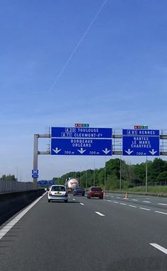 French motorway driving rules and advice