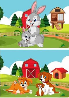 Farm Animals, Cute Animals, Alphabet Words, Kids Learning, Winnie The Pooh, Kindergarten, Beautiful Pictures, Clip Art, Fictional Characters