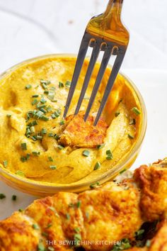 Curry Mayo dip is delicious with grilled chicken skewers. Serve it with the smoky curry chicken kebabs recipe. It's easy, healthy, and tasty. #whole30recipes #chickenrecipes