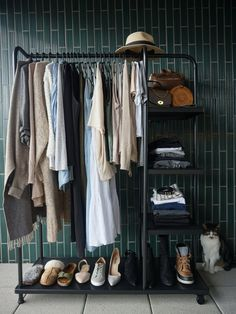 Creating an annual capsule wardrobe — Sunday's Child My Wardrobe, Capsule Wardrobe, Wardrobe Rack, Sundays Child, Casual Wear, Casual Outfits, My Jeans, Black Trousers, Workout Wear