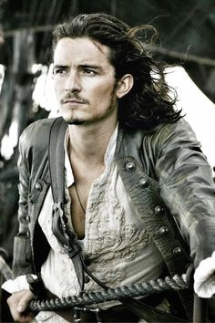 Orlando Bloom as Will Turner in Pirates of the Caribbean: The Curse of the Black Pearl (2003)