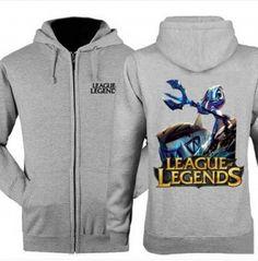 League of Legends Fizz hooded sweatshirts for men 3XL design