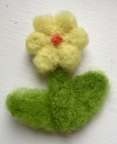 A personal favourite from my Etsy shop https://www.etsy.com/uk/listing/514900107/needle-felted-flower-brooch-gift-idea