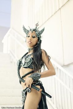 I found 'EVIL SORCERESS/WARRIOR PRINCESS COSTUME. CUSTOM BY ORGANIC ARMOR' on Wish, check it out!