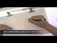 アニメーター支援機構主催 作画講習会「斜め歩き」作画実演