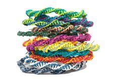 Kit de bricolage : Bracelets d'amitié Paperyarn  par PaperPhine
