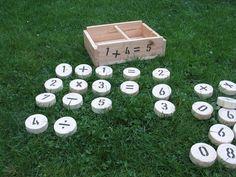 Zahlenspiel von  Outdoorspieler auf DaWanda.com