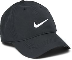 Nike Golf uses high-performance materials to protect you on the course while still remaining stylish. This 'Legacy 91' cap is made from ultra-lightweight and breathable shell Designed for superior sun protection, the peak curves around the face to shade from multiple angles Embroidered eyelets provide ventilation and the cushioned FlexFit® headband helps to keep perspiration at bay The adjustable Velcro® tab ensures day-long comfort #nikesale #nike #nikeoffer #nikeapparels