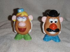 Mr and Mrs Potato Head Salt and Pepper Shakers 1998