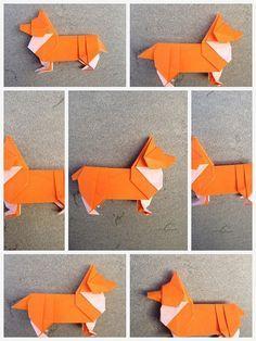 종이접기 | 웰시코기 만들기 출처 페이스북