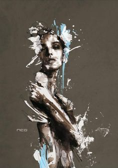 Art by Florian Nicolle Mesmerizing Mixed Media Portraits total) - My Modern Metropolis Collage Kunst, Art Du Collage, Portraits Illustrés, Portrait Art, Portrait Illustration, Watercolor Illustration, Modern Metropolis, Inspiration Art, Art Plastique