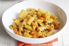 Macarrones integrales con verduras www.cocinandoentreolivos (12) by Cocinando entre Olivos, via Flickr