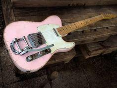 bushdog:  Alleycat Relics Alleycaster 2013 Shell Pink Guitar For Sale Alleycat Relics