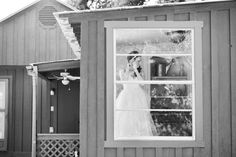 bride getting ready, window, black and white, wedding day, unique wedding photography, lifestyle, austin texas wedding photographer, captivating weddings