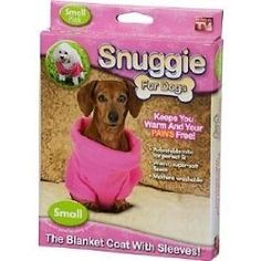 Snuggie for Dogs in Pink - As Seen on TV by As Seen on TV